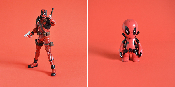 Figurine Deadpool de Marvel Select - Figurine Modnation à customiser