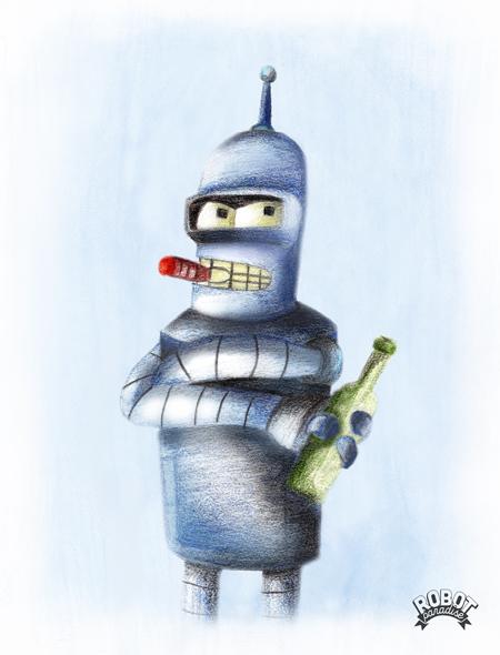 Bender-Portrait-Robot-Robot-Paradise