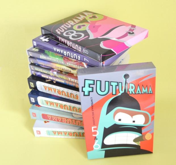 Futurama-Saisons